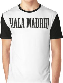 REAL MADRID - Hala Madrid Graphic T-Shirt