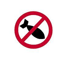 No bombs Photographic Print