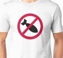No bombs Unisex T-Shirt
