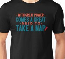 with great power - Nico Di Angelo Unisex T-Shirt