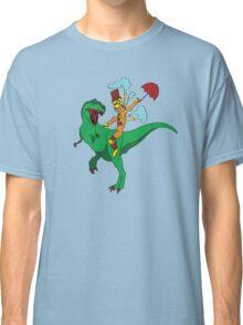Robot Dino Daze Classic T-Shirt