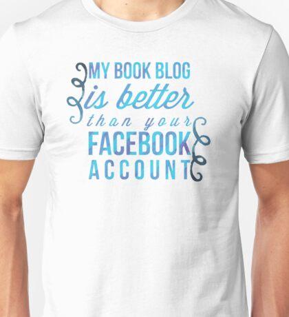 my book blog Unisex T-Shirt