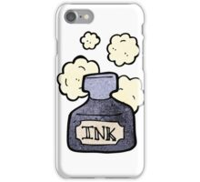 cartoon ink pot iPhone Case/Skin