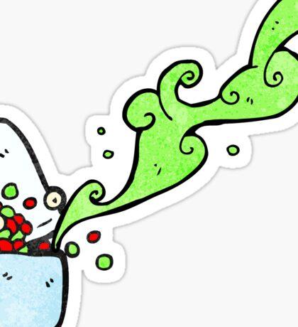 drugs cartoon character Sticker
