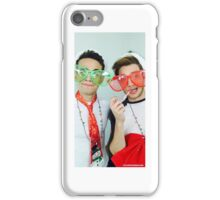 Alberto Rosende & Dominic Sherwood Christmas 2015 iPhone Case/Skin