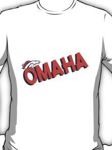 Omaha Broncos Orange Denver Crush  Shirt, Sticker, Cases, Cards, Pillows T-Shirt