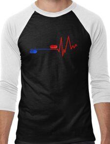 Blue Pill Red Bill Men's Baseball ¾ T-Shirt