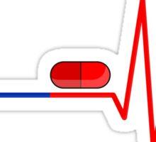 Blue Pill Red Bill Sticker