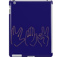 Spock, Paper, Scissors iPad Case/Skin