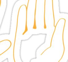 Spock, Paper, Scissors Sticker