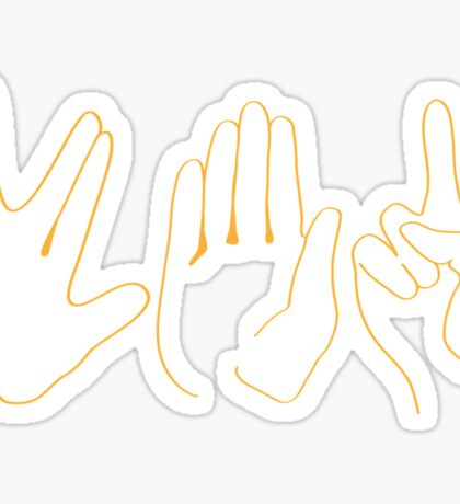 Spock, Paper, Scissors Sticker