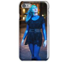 Project L: Blue light above iPhone Case/Skin
