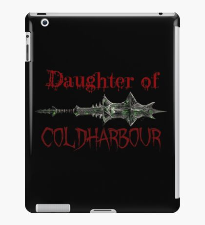 Skyrim Daughter of Coldharbour Mace of Molag-Bal Design - Vampire Molag Bal Molag-Bal Coldharbor Dawnguard - The Elder Scrolls iPad Case/Skin