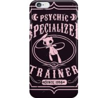 Psychic Specialized Trainer iPhone Case/Skin