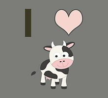 I heart Cows by Eggtooth