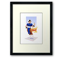 Street fighter 2 - Chun Li Framed Print