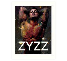 Zyzz - Son of Zeus, Brother of Hercules, Father of Aesthetics Art Print