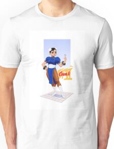 Street fighter 2 - Chun Li Unisex T-Shirt