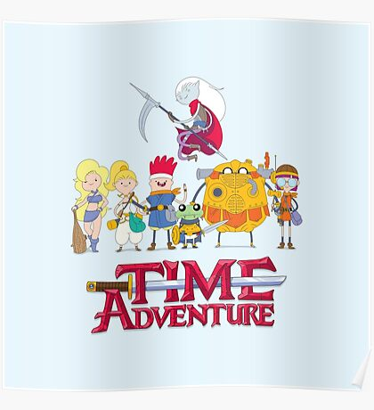 TIME ADVENTURE Poster