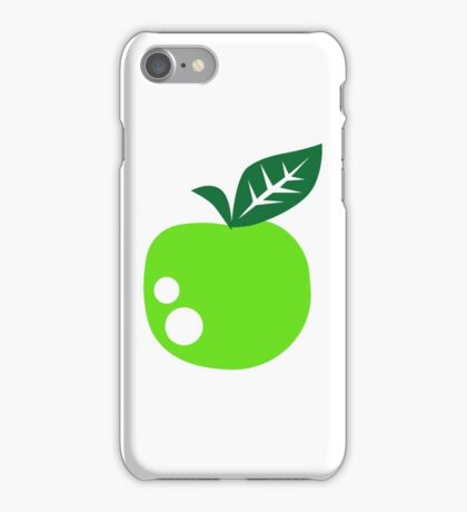 Green apple iPhone Case/Skin