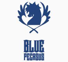 Blue Pegasus One Piece - Long Sleeve