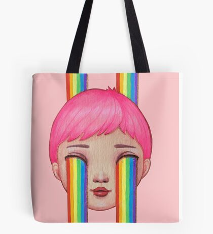 Over the Clouds Tote Bag
