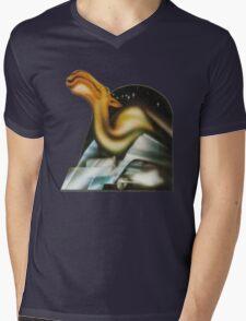 Camel Self-Titled Artwork Mens V-Neck T-Shirt