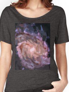 Galaxy Print Women's Relaxed Fit T-Shirt