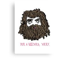 Hagrid Canvas Print