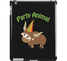Party Animal Yak iPad Case/Skin