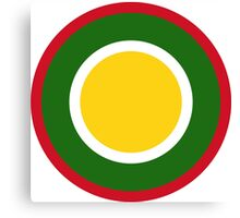 Royal Brunei Air Force Roundel Canvas Print