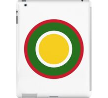 Royal Brunei Air Force Roundel iPad Case/Skin