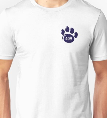 409 Paw Print Unisex T-Shirt