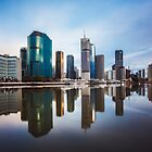 Brisbane Reflections by McguiganVisuals