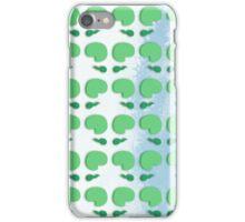 green tadpoles iPhone Case/Skin