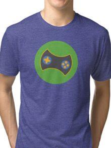 Gamer Emblem (2) Tri-blend T-Shirt