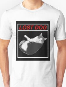 Lost Dog Unisex T-Shirt