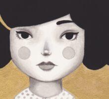 Kitty Girl III Sticker