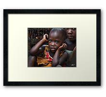 Uganda Future Probe Framed Print