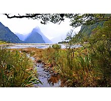 Milford Sound. South Island. New Zealand. Photographic Print