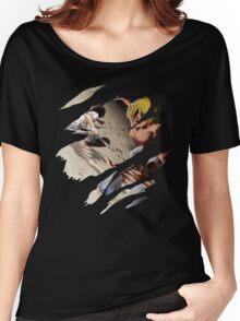 Mikasa Anime Manga Shirt Women's Relaxed Fit T-Shirt