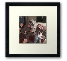 The boyz Framed Print