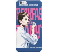 Breakfast at Tiffany's Movie Poster iPhone Case/Skin