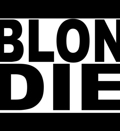Blondie TShirt schwarz Sticker