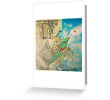 The Birds and The Bees Greeting Card