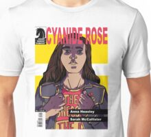 CYANIDE ROSE - comic book cover! Unisex T-Shirt
