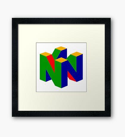 Nintendo! Framed Print