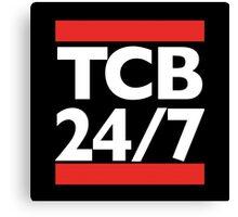 TCB 24/7 Canvas Print