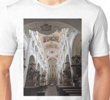 St Thomas the Apostle Church, Prague, Czech Republic, interior Unisex T-Shirt