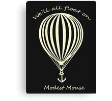 Modest Mouse Float on With Balloon Canvas Print